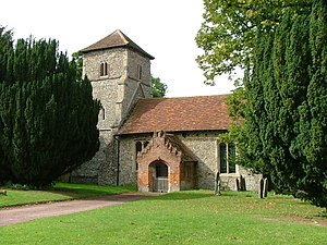 Sturmer, Essex - Image: St Mary's church, Sturmer