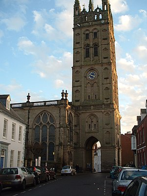 Collegiate Church of St Mary, Warwick - Image: St Mary Warwick 3