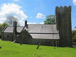 Burton, Pembrokeshire - Image: St Marys Church, Burton (geograph 3466995)