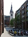 St Nicholas Cole Abbey, Queen Victoria Street, City of London EC4V 4BJ - geograph.org.uk - 426578.jpg