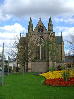St Ninians Cathedral, Perth Church in Perth, Scotland