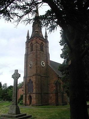 Keresley - Image: St Thomas Church tower Keresley