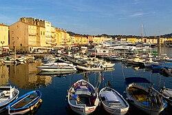 Přístav v Saint-Tropez
