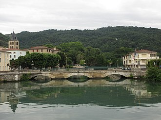 Saint-Vallier, Drôme - A general view of Saint-Vallier