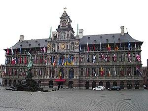 Cornelis Floris de Vriendt - Antwerp city hall