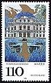 Stamp Germany 1998 MiNr2007 Würzburger Residenz.jpg