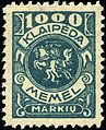 Stamp Memel 1923 1000m Vytis.jpg