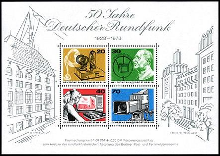 Briefmarken Jahrgang 1973 Der Deutschen Bundespost Berlin Wikipedia