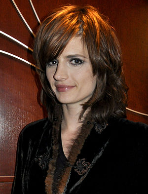 Actress Stana Katic at an Olympic party