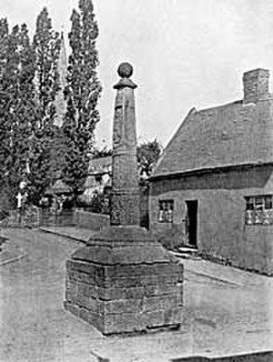 Stapleford Cross - Stapleford Cross in c.1906