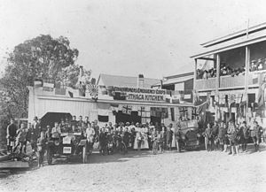 Volunteering - Volunteers from around the world came to Ithaca, Queensland to address an influenza epidemic through the Women's Emergency Corps (later the Women's Volunteer Reserve) in July 1919.
