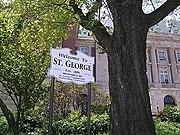 Staten Island Borough Hall sign