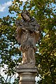 Statue of John of Nepomuk in Brno-Maloměřice 01.jpg