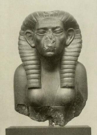 Sobekneferu - Head of ruling pharaoh Sobekneferu