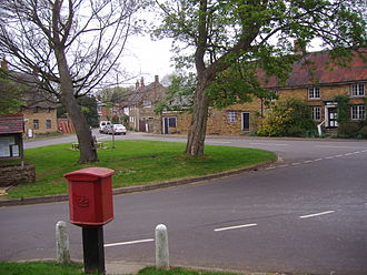 Staverton, Northamptonshire - The village green