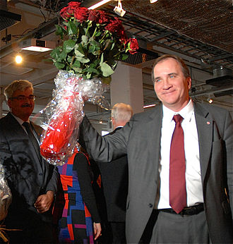 Stefan Löfven - Stefan Löfven elected to become the party's new leader on 27 January 2012.
