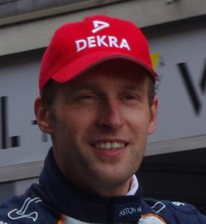 Stefan Mücke - Mücke at the 2011 24 Hours of Le Mans driver parade