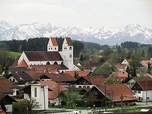 Das Kloster Steingaden