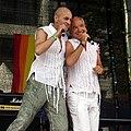 Stephan Runge und Claus Vincon - CSD 2006 Cologne - Bühne Heumarkt - 4882.jpg
