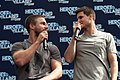Stephen Amell and Robbie Amell HVFFLondon2017Amell-ALS-32 (35313376345).jpg