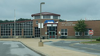 West Chester Area School District - Stetson Middle School, part of the West Chester Area School District