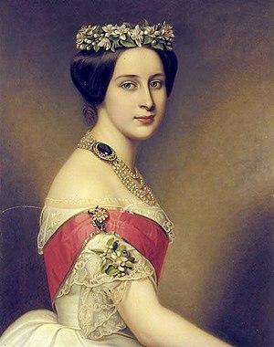 Princess Alexandra of Saxe-Altenburg - Image: Stieler Alexandra Iosifovna