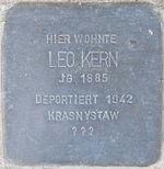 Stolperstein Böchingen Kern Leo.jpeg