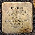 Stolperstein Metzer Str 29 (Prenz) Lotte Landau.jpg