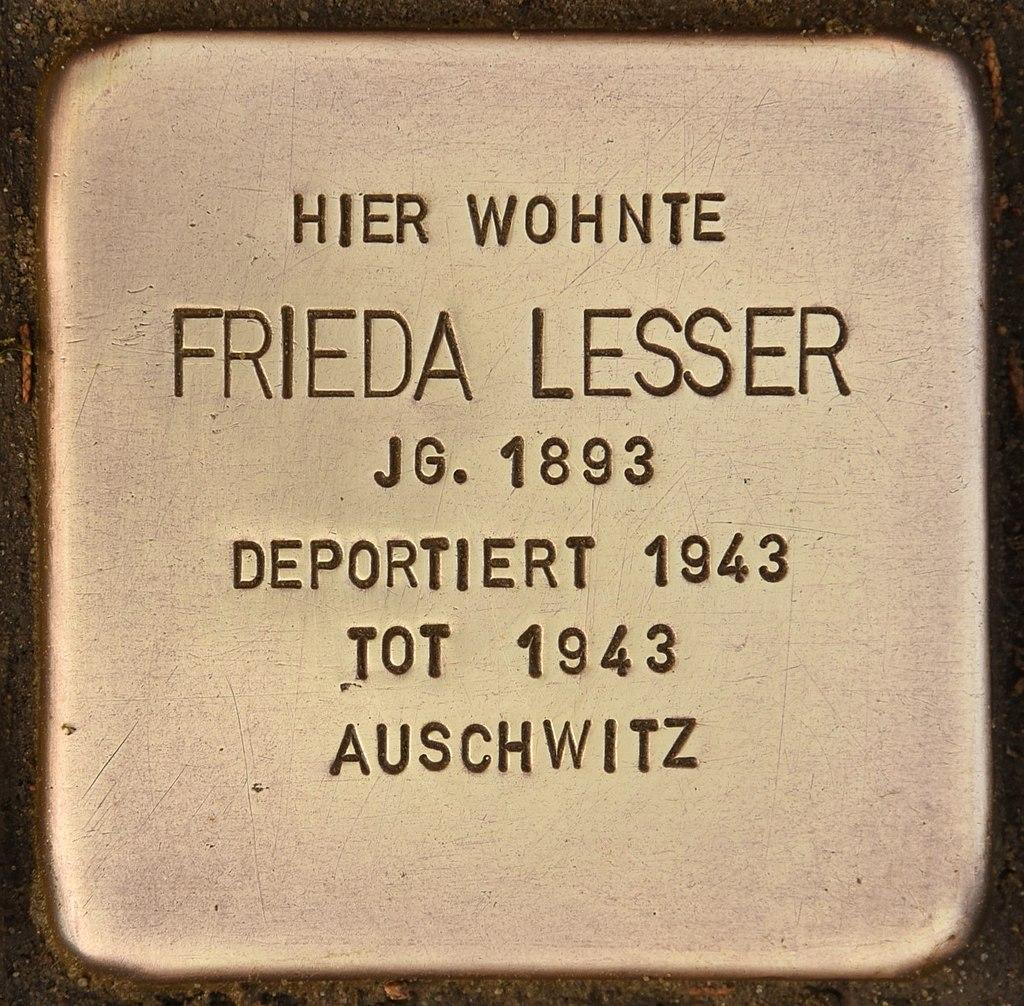 Stolperstein für Frieda Lesser (Oderberg).jpg