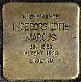 Stolpersteine Krefeld, Ingeborg Lotte Marcus (Südwall 34).jpg