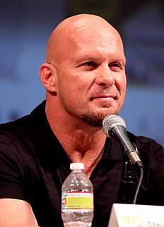 Stone Cold Steve Austin American professional wrestler and actor