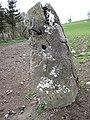Stone gatepost and benchmark - geograph.org.uk - 1250496.jpg