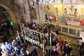 Stone of the Anointing, in the Church of the Holy Sepulchre, Jerusalem 01.jpg