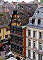 Straßburg Maison Kammerzell vom Turm des Münsters.jpg