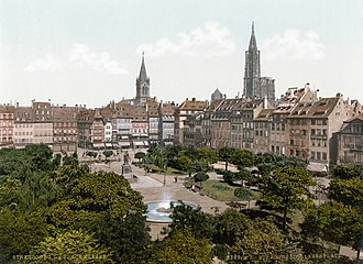 Place Kléber - Place Kléber in 1900