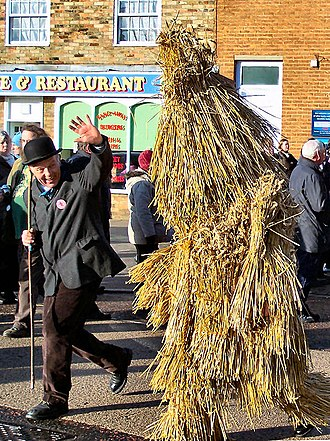 Whittlesey - The Whittlesea Straw Bear 2008