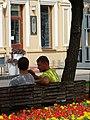 Street Scene along Pedestrian Mall - Kaunas - Lithuania (27348368743) (2).jpg