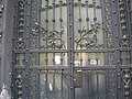 Street gate detail, 21 Alkotmány Street, Lipótváros, 2009 BudapestDSCN3503.jpg