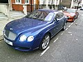 Streetcarl Bentley continental GT and Nissan Skyline GTR (6430026565).jpg