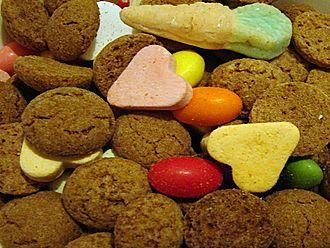Zwarte Piet - Strooigoed and kruidnoten mix for scattering
