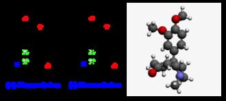 Mesembrine - Structure of mesembrine