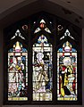 Sts Nicholas Hilary & Peter window, St Hilary's, Wallasey.jpg