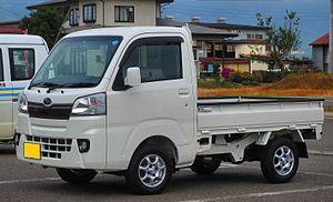 Subaru Sambar - Image: Subaru Sambar Truck TC AWD (Stylish Pack) S510J 0505