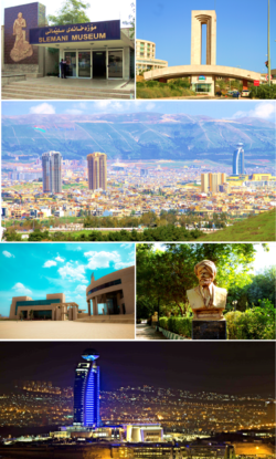 Sulaymaniyah City Collage.png