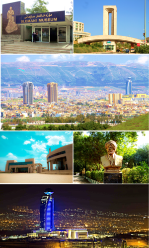 Sulaymaniyah City Montage
