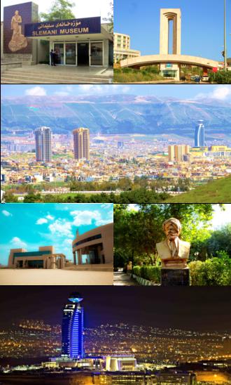 Sulaymaniyah - Sulaymaniyah city montage