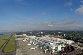 Balikpapan - Sepinggan Airport, one of the busiest airport in Indonesia