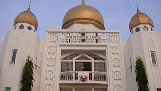 Sulu - Sulu Provincial Capitol Building in Jolo
