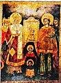 Sunday of Orthodoxy Icon in All Saints Church in Xirokrini, Thessaloniki.jpg