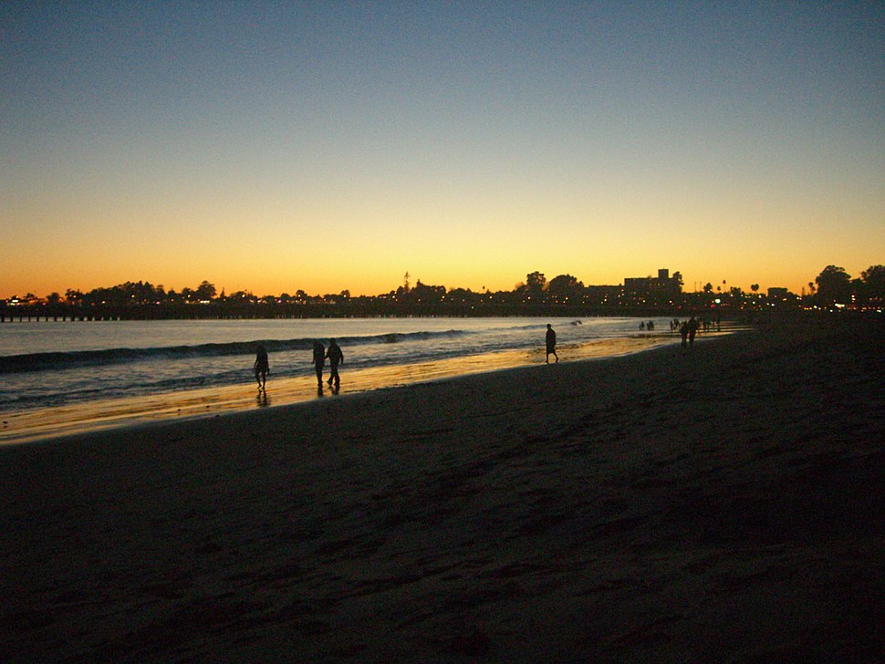 Sunset in Santa Cruz, California
